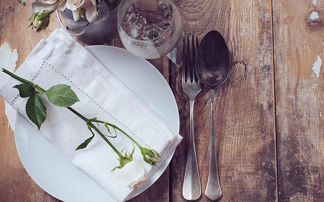 Prepare your table in a proper way